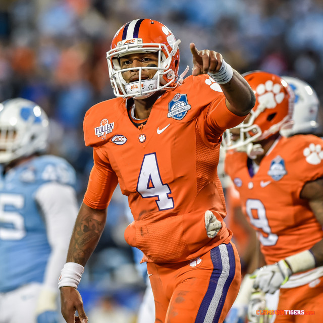 Photo of DeShaun Watson -Photo Courtesy of Carl Ackerman