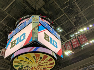 Scoreboard at Verizon Center