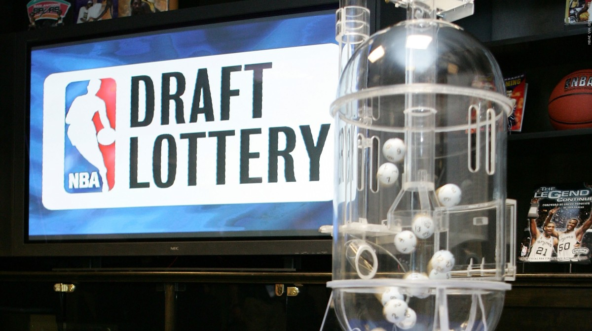 NBA Draft Lottery Ping Pong Balls