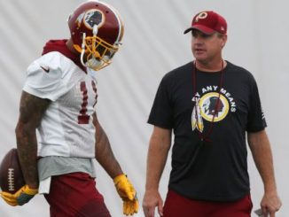 Terrelle Pryor and Jay Gruden