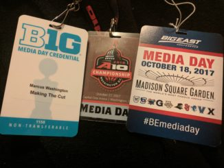 Media Day Credentials