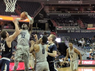 Sodom (Georgetown) shooting a layup