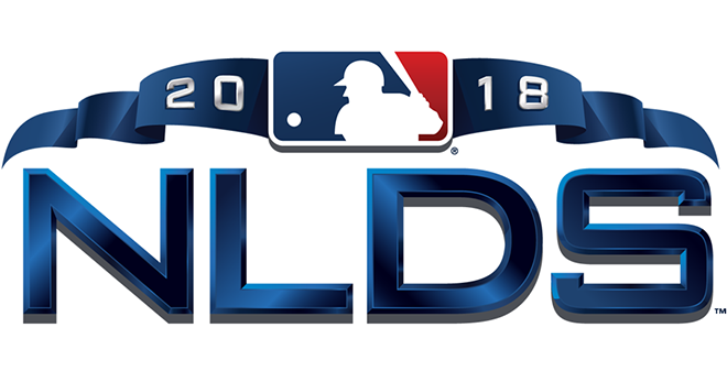 National League Division Series logo