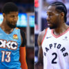 Paul George and Kawhi Leonard